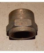 """Brass Big Garden Hose Adapter 1"""" FHT x 1"""" FIP USA 1"""" Hose x 1"""" Pipe Thre... - $19.49"""