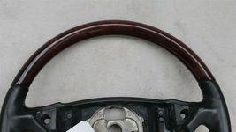 03-06 Porsche Cayenne 955 Wood/ Blk Leather 3 Spoke Steering Wheel 7L5419091 image 4