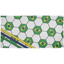 World Cup Brazil Soccer Ball All Over Beach Towel - $26.95