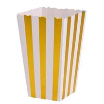 (03)12Pcs/lot Gold/Silver Wedding Decor Supplies Mini Popcorn Boxes Chev... - $20.00