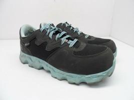 Timberland PRO Women's Powertrain Alloy-Toe Work Shoes 92670 Black/Blue ... - £17.40 GBP