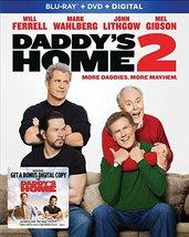 Daddy's Home 2 [Blu-ray+DVD+Digital, 2018]
