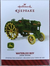2014 HALLMARK Keepsake Ornament John Deere Waterloo Boy Tractor - $11.95