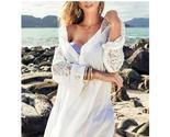 Ork lace tunic women beachwear sexy summer beach top swimsuit cover up beach dress thumb155 crop