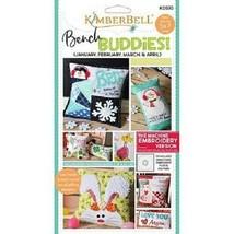 Kimberbell  KD570 Bench Buddy (Jan-Apr) Machine Embroidery CD - $39.55
