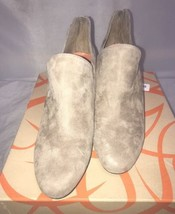 Via Spiga Fabienne  Suede Wedge Ankle Bootie Womens Shoes  Size 7 NEW - $99.00