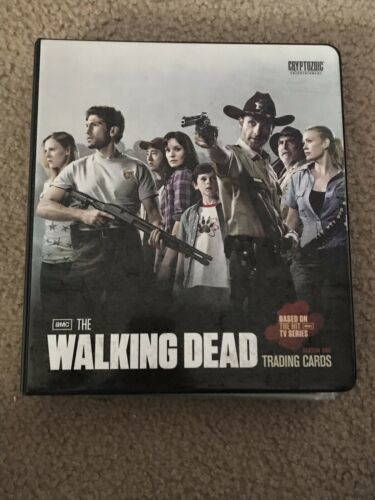 Primary image for Walking Dead Season 1 Binder Mini Master Set With Ricks Kill Blood Variant Card