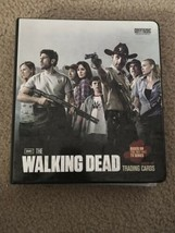 Walking Dead Season 1 Binder Mini Master Set With Ricks Kill Blood Varia... - $544.50