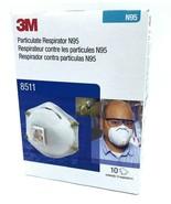 3M  N95 Mask #8511 Particulate Respirator 10 per Box Exp 2026 - $22.99