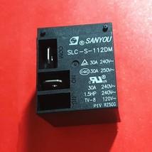 SLC-S-112DM, 12VDC Relay, Sanyou Brand New!! - $5.94