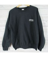 Toshiba Sweatshirt Mens Large L Black Team Logistics Uniform - $35.12