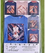 "Caught up in Stitches ""Stitched with Scraps"" Blocks for Shirts Sewing Cr... - $6.92"