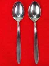 "2X Teaspoons Spoons Englishtown ENS2 Stainless Glossy Flatware 6 1/4"" Te... - $17.82"