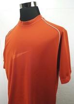Nike Training T-Shirt UT  Burnt Orange Large Swoosh Logo Men's Size: Large - $13.49