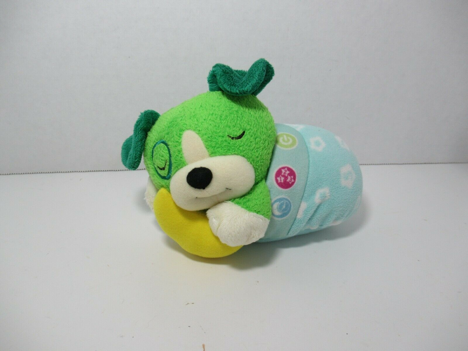 LeapFrog Twinkle Little Scout blue Plush Puppy Dog Light Music lullaby baby  - $49.49