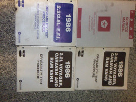 1986 Dodge RAM VAN WAGON RWD Service Shop Repair Manual SET OEM FACTORY ... - $79.15
