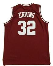 Julius Erving #32 College Basketball Jersey Sewn Maroon Any Size image 5