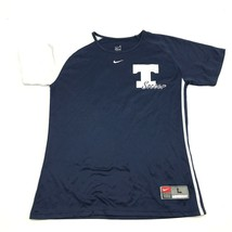Nike T Soccer Jersey Youth Size Large 12 - 14 Blue Dry Fit Shirt Short S... - $17.83