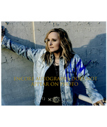 MELISSA ETHERIDGE  Authentic Original  SIGNED AUTOGRAPHED 8X10 w/ COA 605 - $70.00