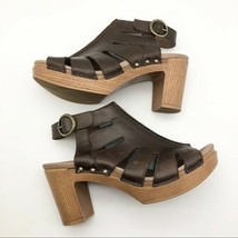 Dansko Brown Sandal Heels, Womens Size 8 - $55.89