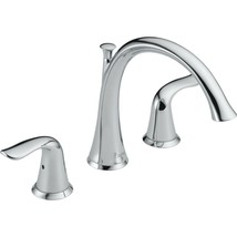 Delta Lahara Deck Mount Roman Tub Faucet Trim Kit Only Chrome #T2738 (Sc... - $99.50
