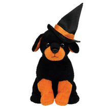 "Pyoopeo Ty Beanie Babies 6"" 15cm Alacazam the Dog with Witch Hat Plush Regular S - $8.99"