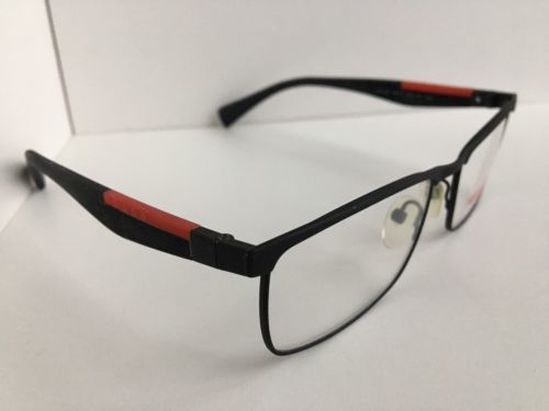 New Prescription PRADA VPS 54F DG0-1O1 53mm Black Rx Men's Eyeglasses Frame #2