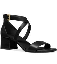 Nib Michael Kors Diane Mid Block Heel Dress Sandal Size 7.5 - $69.29