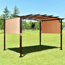 6.7' x 17' Pergola Structure Universal Replacement Canopy Cover - $45.34