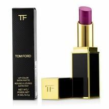 TOM FORD Lip Color Satin Matte Lipstick #1 Crush 14 Purple Pink Fuchsia ... - $62.50