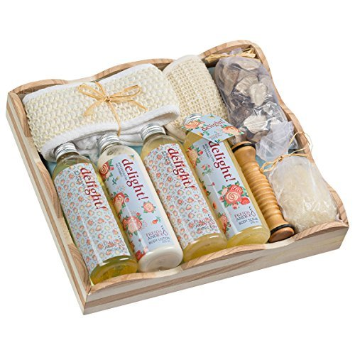 Wooden Massage and Reflexology Kit at Home Spa Gift Set Perfect for Women in Flo - $46.40