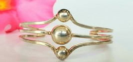 Vintage  Simple & Elegant Sterling Silver Cuff Bracelet from Mexico - $80.00