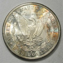 1881-S Silver Morgan Dollar CH UNC Coin AH210 - $69.59