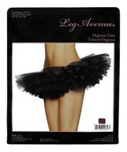 NEW LEG AVENUE WOMEN'S SEXY TUTU BALLET DANCE SKIRT A1705 ONE SIZE BLACK image 2