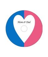 Heart Symbol Male Female Custom Printed DVD Cover on 4.7 GB Blank DVD-R - $6.00