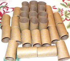 40 Half Dollar - Shotgun Coin Wrappers - Coin Rolls - Crimped On One End - $12.95