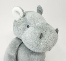 Carter's 2014 Bébé Gris Hippo 66741 Animal en Peluche Jouet Adorable Hippopotame - $45.88