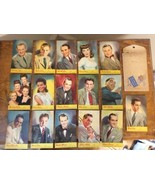 16 POSTCARDS 1945 VICTOR & BLUEBIRD SWEET & SWING STARS ORIGINAL ENVELOPE - $74.95