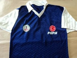 old rare  soccer Jersey  zmir Barosul with 7Turquia  - $38.61