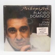 Vintage Placido Domingo Perhaps Amour W / John Denver Record Album Vinyl... - $30.01