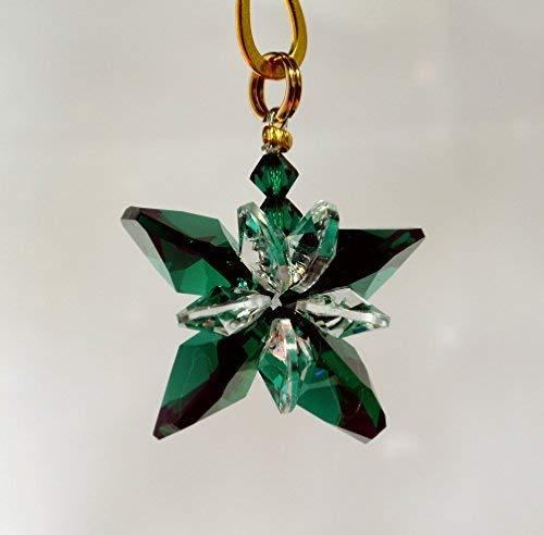 J'Leen Emerald Small Crystal Butterfly