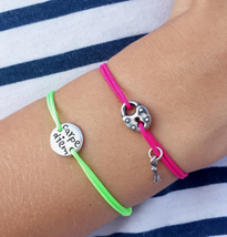 Carpe diem cord bracelet, Carpe diem jewelry, inspirational bracelet - $29.00