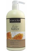 Cuccio Lytes Ultra Sheer Body Butter,  Milk & Honey   32 oz