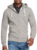Polo Ralph Lauren Classic Full-Zip Fleece Hoodie, Lt Sept Heather, Small - $72.22