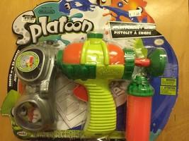 World of Nintendo Splatoon Gun Splattershot Mini Jakks Pacific Shoots INK New - $5.19