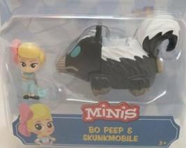 Toy Story 4 - Disney Pixar - Minis - Bo Peep & Skunkmobile - $19.75