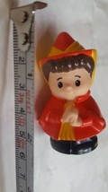 2003 Mattel Little People Female with red dress and hat • pre-owned  - $7.84