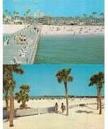 CLEARWATER, Florida FL   PIER 60~SNACK BAR~BATHING BEAUTIES~BEACH  *2* P... - $7.82