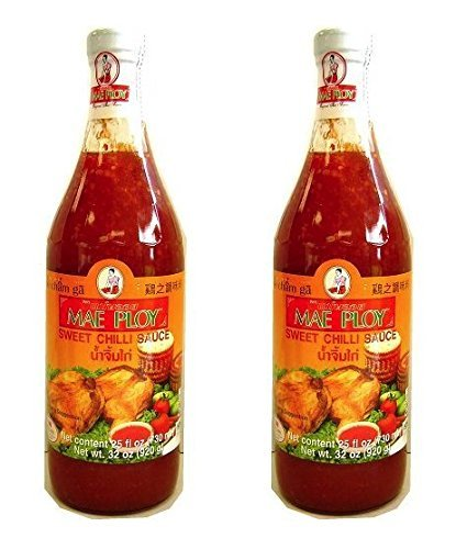 Mae Ploy Sweet Chili Sauce 32OZ Pack of 2