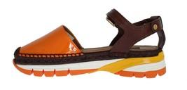 Dolce & Gabbana Women Brown Leather Espadrilles Sandals Size US 8.5 EU 39 - $326.94
